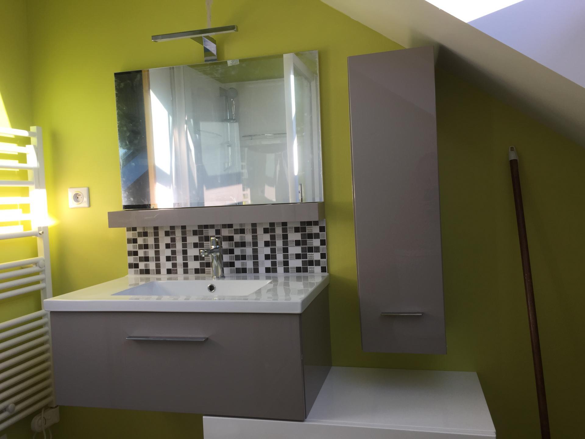 Crétion de salle de bain en combles aménagés